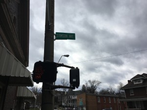 Stimson Ave., one of the streets hit by the break-ins