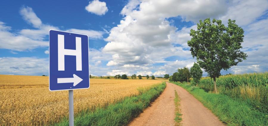 Rural-Hospital-Sign