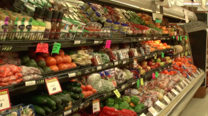 Food deserts don't have easily accessible food like fruits and vegetables.