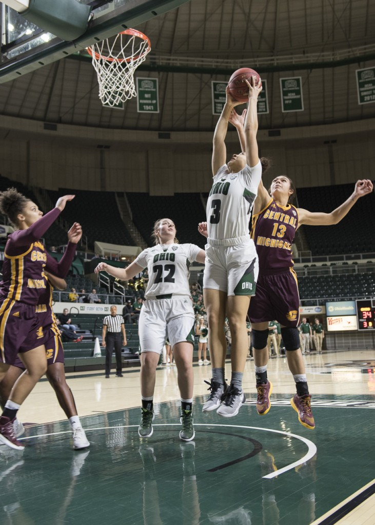 Photos: Ohio University Women's Basketball vs. Central ...