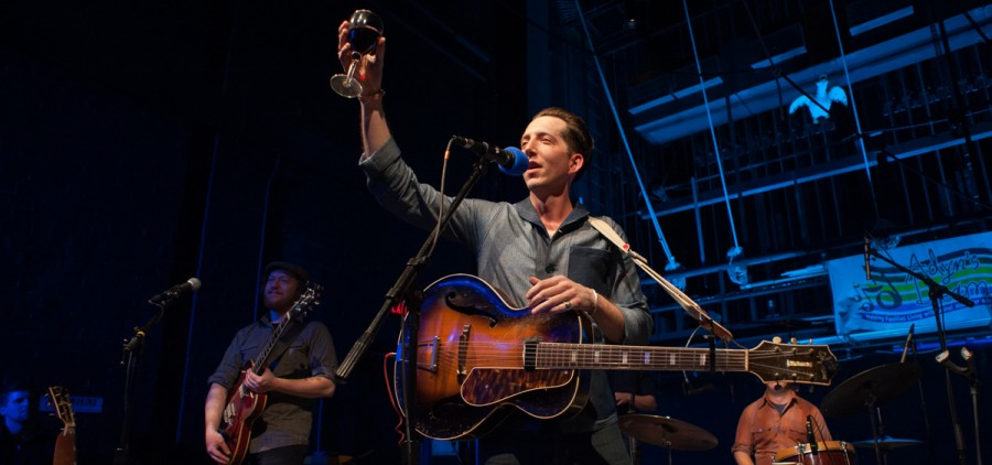 Pokey LaFarge was the headliner for Saturday's fundraiser for Adyn's Dream. (Drake Withers/WOUB)