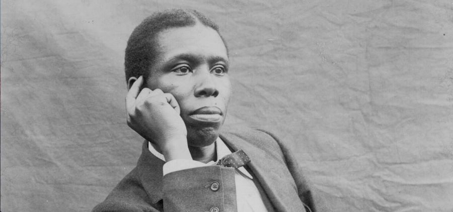 "Dayton poet Paul Laurence Dunbar is examined in ""Beyond the Mask: Paul Laurence Dunbar,"" a documentary crafted by Ohio University faculty Dr. Joseph Slade and Frederick Lewis. (Ohio History Connection)"