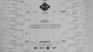One of the nearly 70 million brackets filled out this week.