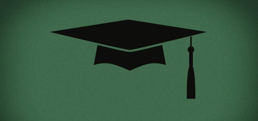 An illustration of a graduation cap