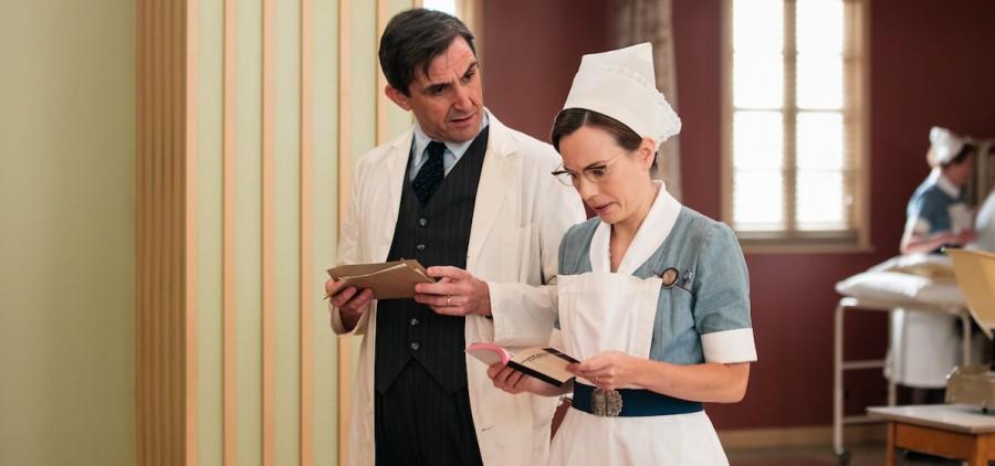 Stephen McGann as Dr Patrick Turner, Laura Main as Shelagh Turner