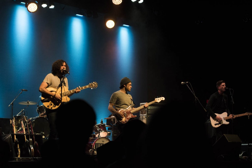 Northern Faces opened up Monday night for X Ambassadors. (Meagan Hall/WOUB)