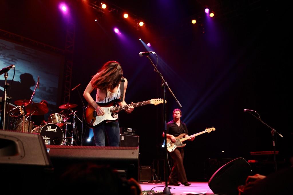Australian blues musician Kara Grainger will perform at the 26th Annual River City Blues Festival in Marietta this weekend. (karagrainger.com)