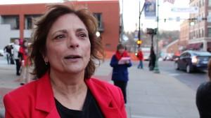 Community activist Andrea Reik.
