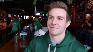22-year- Marketing student Cody Black.