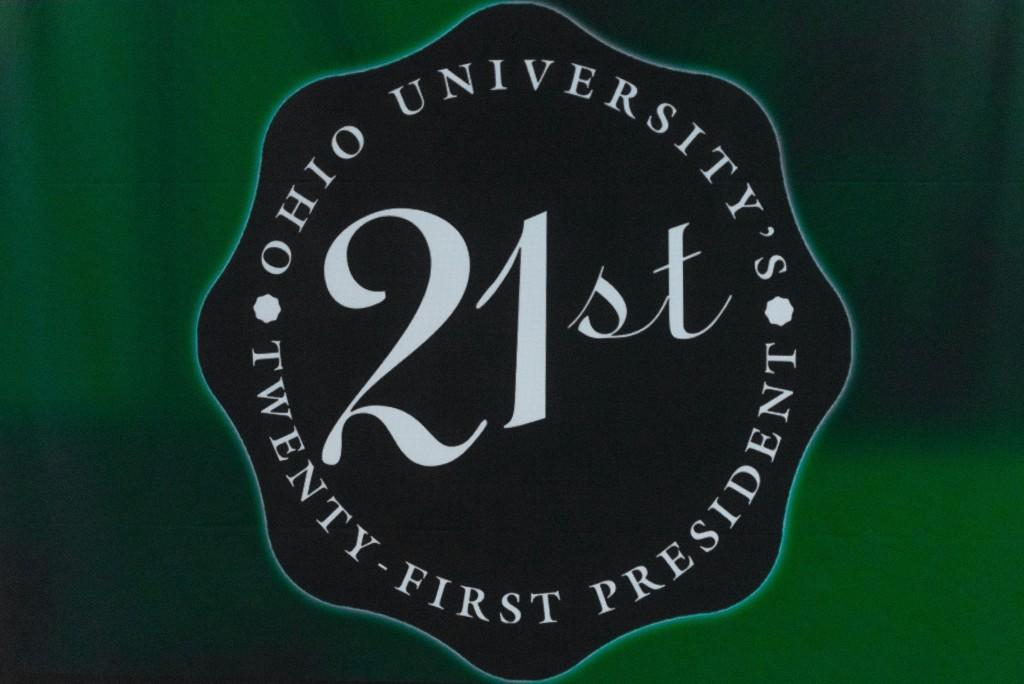 Ohio Univesity's 21st Presidential Welcome Reception. (Nickolas Oatley/WOUB)