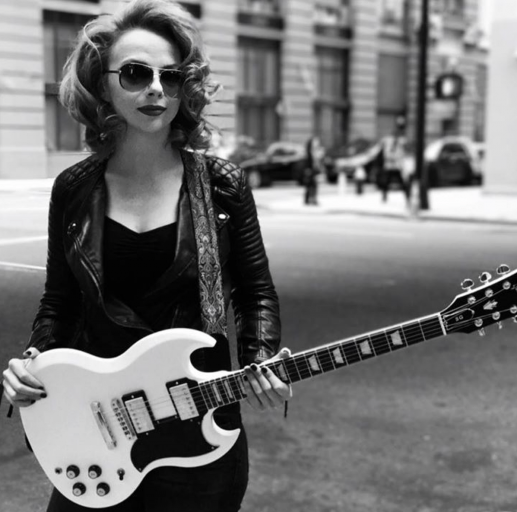 Young blues guitarist Samantha Fish will perform this weekend at the 26th Annual River City Music Festival. (samanthafish.com/Brian Rozman Photography)