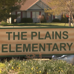 Out of the 4 elementary schools, The Plains Elementary has the highest level of poverty.