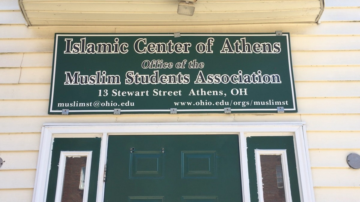 Office of the Muslim Student Association (MSA) in Athens.