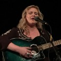"""Renée Stewart sings her piece, """"Black Crows"""" a ballad during the 2016 """"Women Speak"""" event. (Submitted)"""