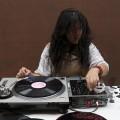 Sound artist and abstract turntablist Maria Chávez. (Photo by Jaime O'Bradovich)