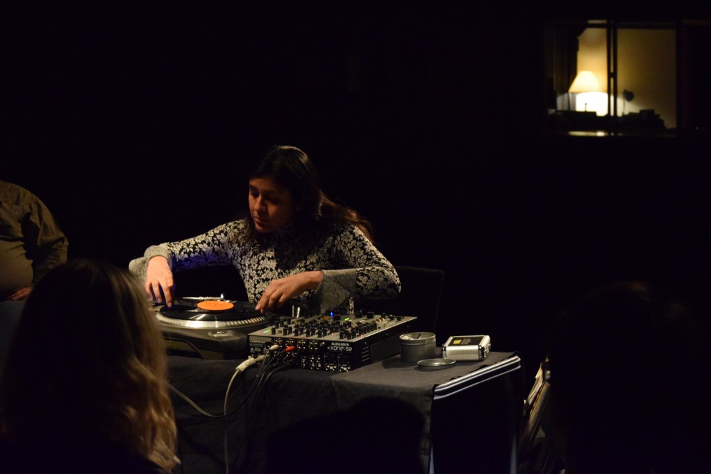 Maria Chavez performs at ARTS/West Friday, March 17. (Joseph Snider/WOUB)