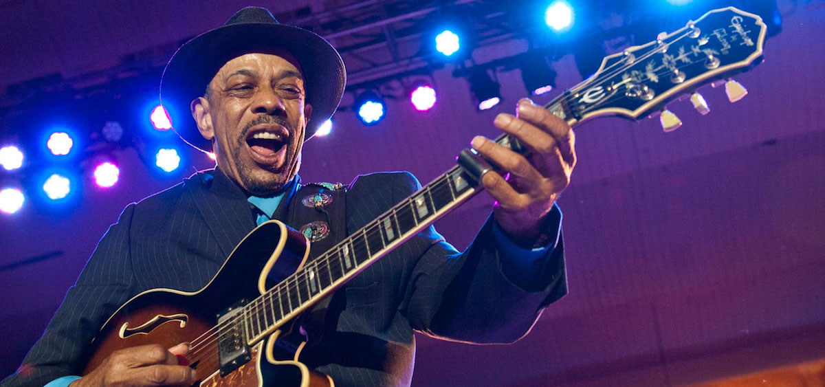 Chicago blues legend John Primer is set to perform at the 26th Annual River City Blues Festival this weekend. (johnprimerblues.com/Photo by Marilyn Stringer)