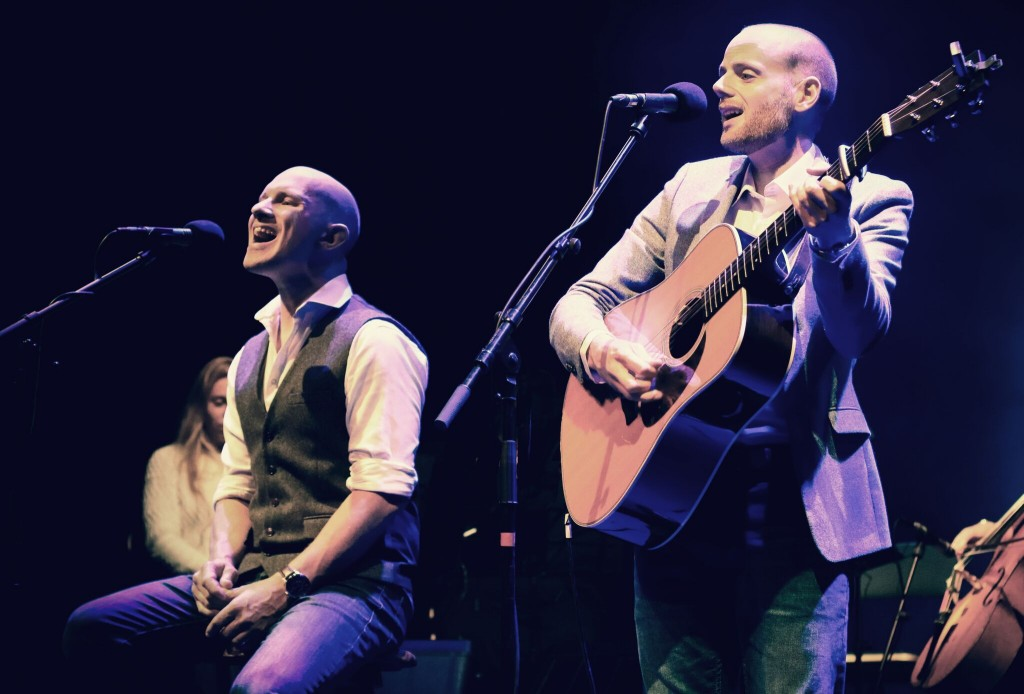 British Simon & Garfunkel tribute artists Bookends will perform at the Peoples Bank Theatre April 21. (Submitted)