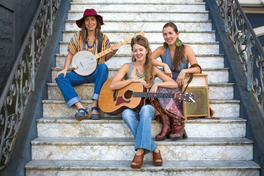 The T Sisters will perform on Mountain Stage on April 9 at the Peoples Bank Theatre in Marietta. (Submitted)