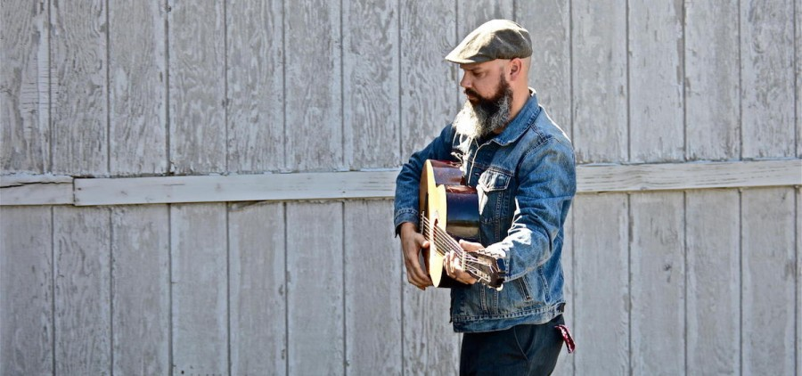 Edward David Anderson, who will perform on Mountain Stage with Larry Groce April 9. (edwarddavidanderson.com)