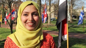 Hajir Ali is 29 years old and from Iraq. She is doing her PhD in Civil Engineering.