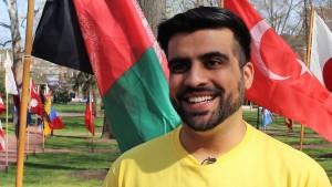 ISU president Hashim Pashtun is from Afghanistan and doing his PhD in Civil Engineering.