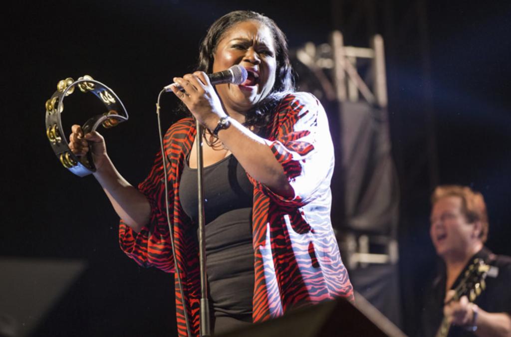Shemekia Copeland performs at the Mahindra Blues Festival in Mumbai, India. (shemekiacopeland.com)