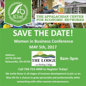W.I.B. Save the Date for WOUB Event Calendar