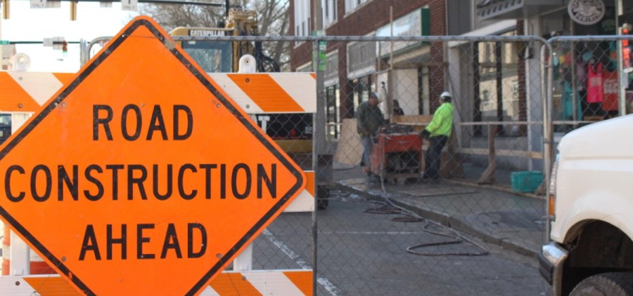 Construction on W Union Street finally ended after two and a half years. And then, it picked right back up less than a week later.