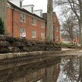 It seems like Ohio University's free summer housing program is falling into the water.