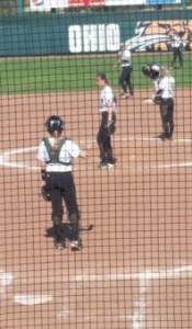 Savana Jo Dorsey takes the mound against Kent State