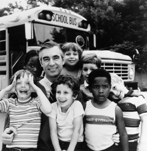 Mister Rogers' bus