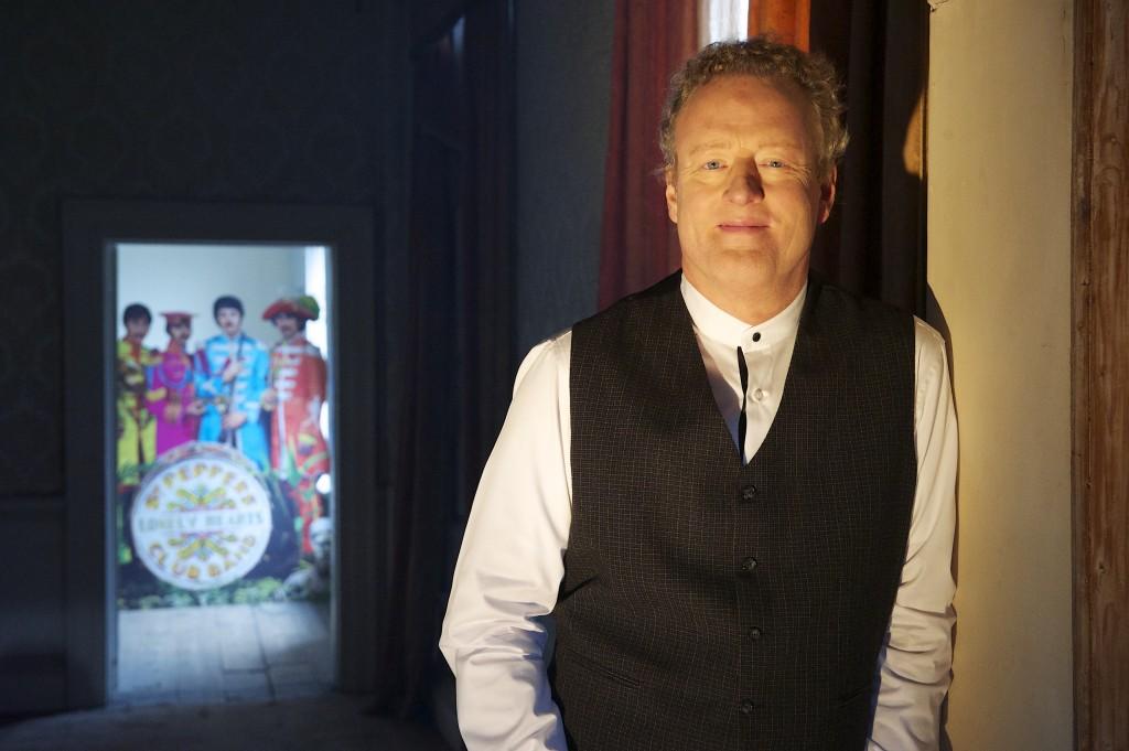"""""""Sgt. Pepper's Musical Revolution"""" host Howard Goodall. (Courtesy of Apple Corps Ltd.)"""