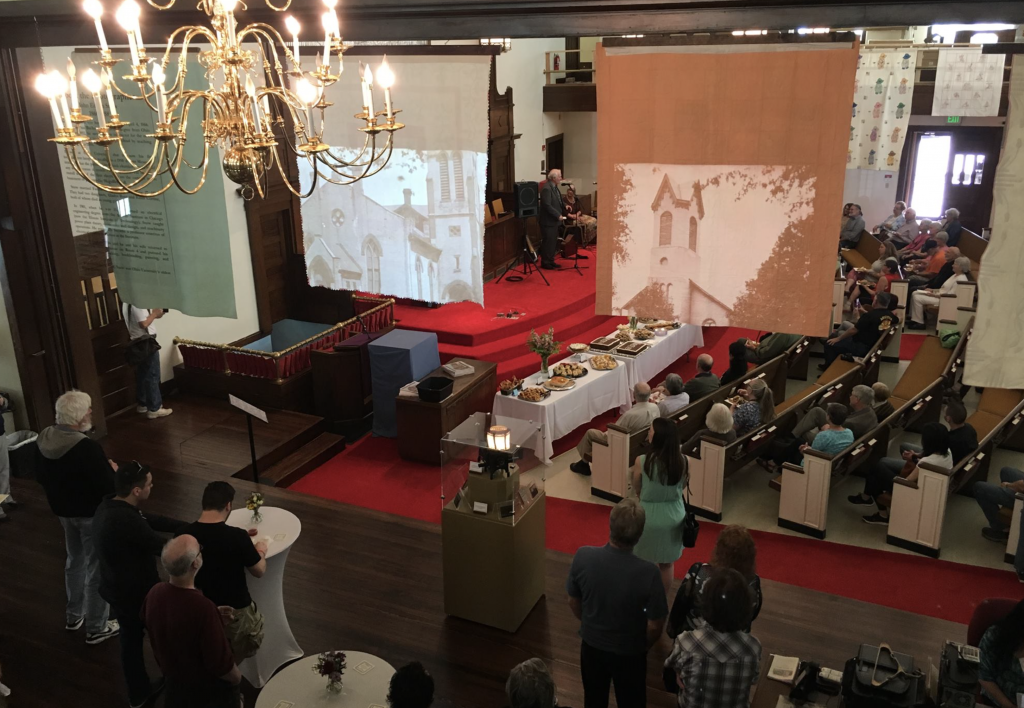 A photo of the grand opening of the new location for the Southeast Ohio History Center. (Facebook.com/southeastohiohistory)