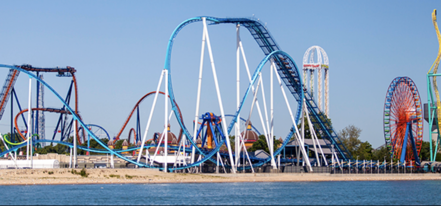 The coast of Cedar Point, one of Northwest Ohio's most beloved attractions. (Facebook.com/cedarpoint)