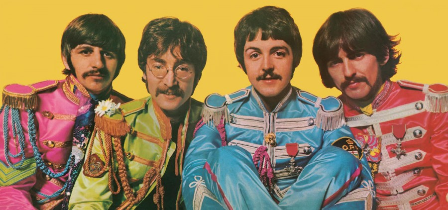 "The inner gatefold image from The Beatles' ""Sgt. Pepper's Lonely Hearts Club Band"" LP, which was released June 2, 1967. (Courtesy of Apple Corps Ltd.)"