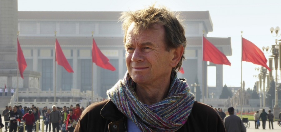 Michael Wood walks through Tiananmen Square