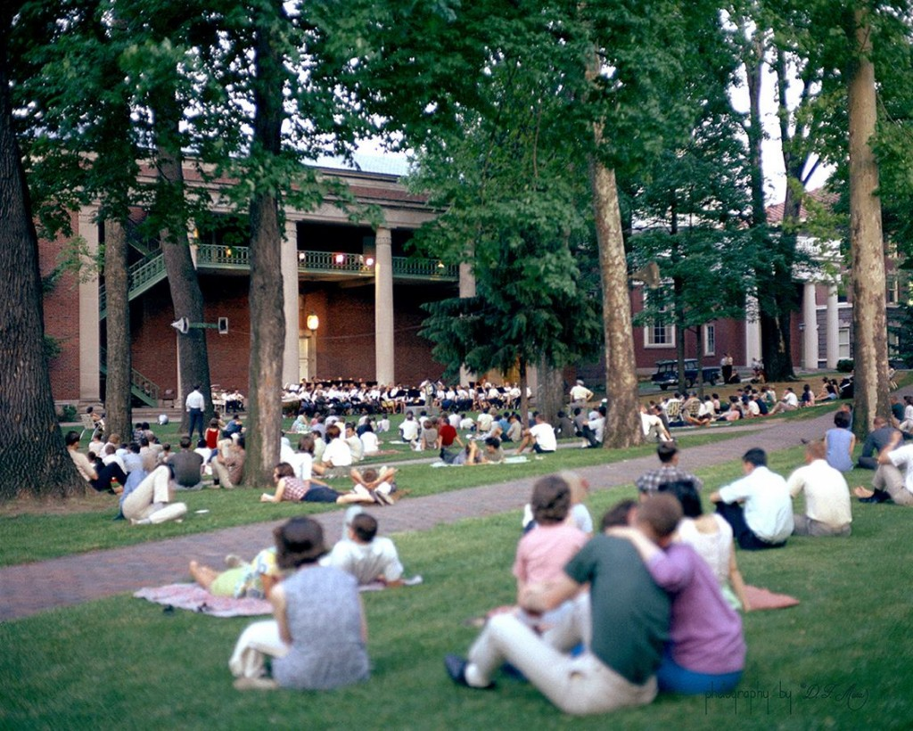 A vintage photo of an Under the Elms performance. (Submitted)