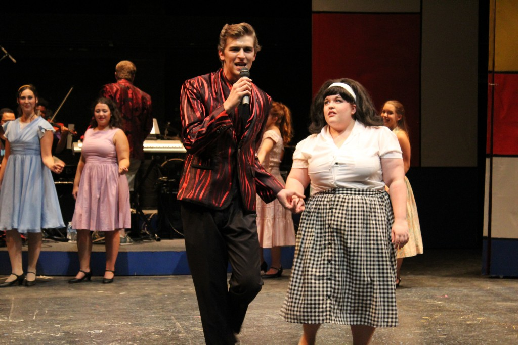 "Another shot from a rehearsal of OVST's production of ""Hairspray."" (Submitted)"