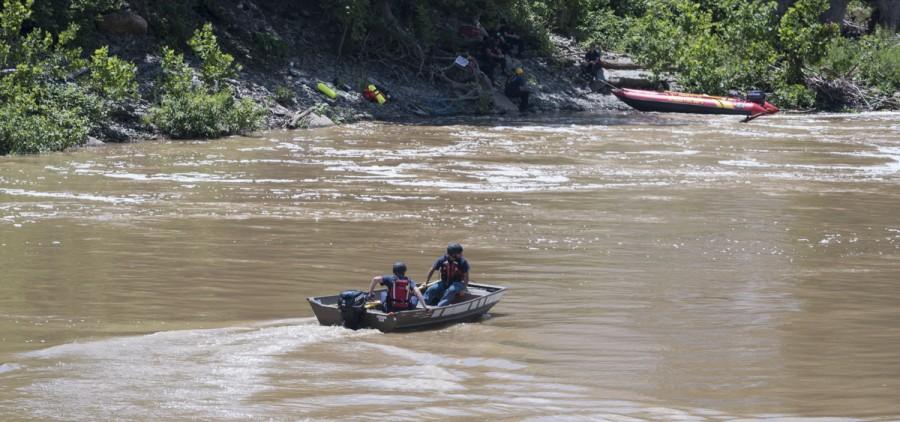 Missing kayaker