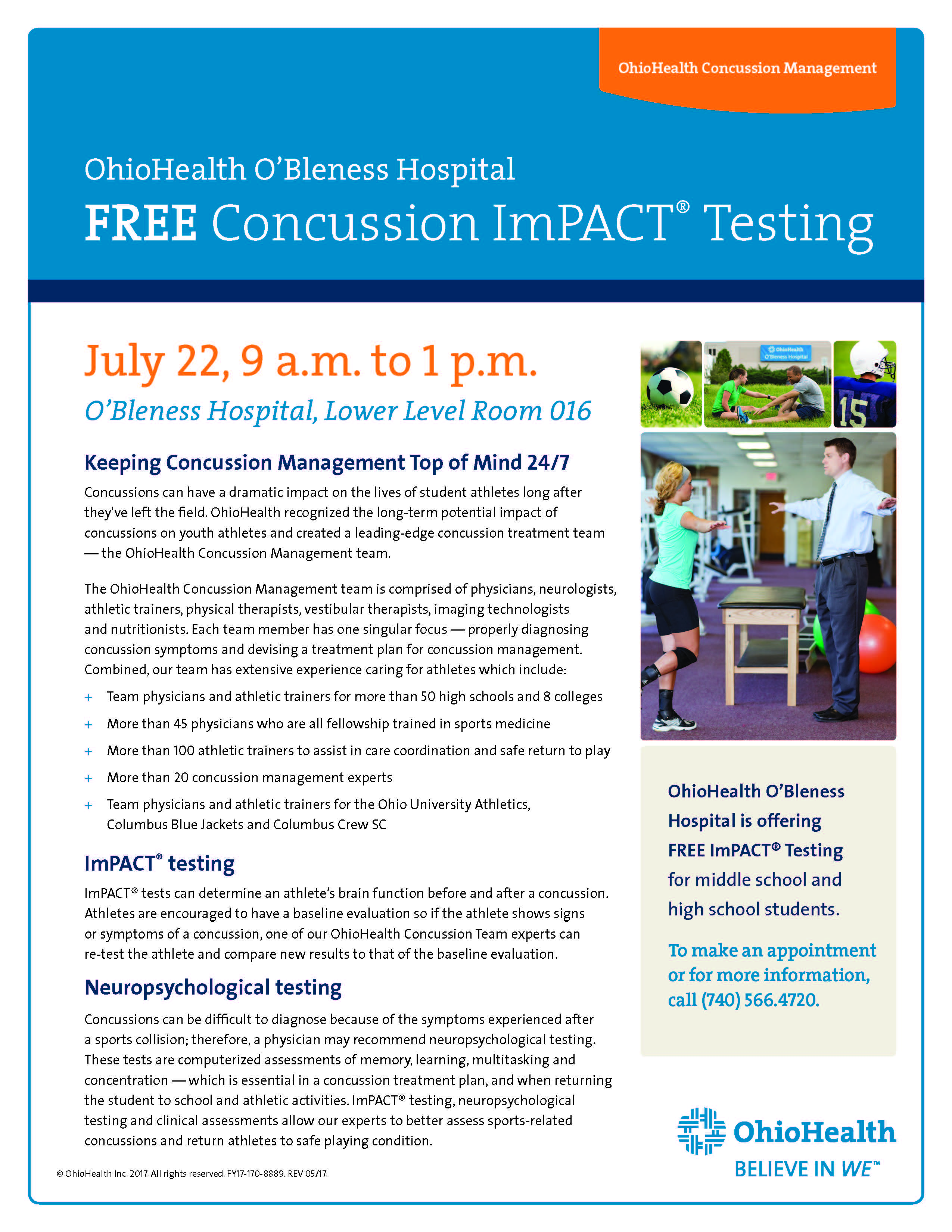 pediatric concussion and impact testing Concussion & impact testing at next generation pediatrics we have developed a clinic with specialized care to address the more prevalent issue of concussions a concussion is an alteration of mental status and function caused by a sudden and sometimes violent movement of the brain inside.