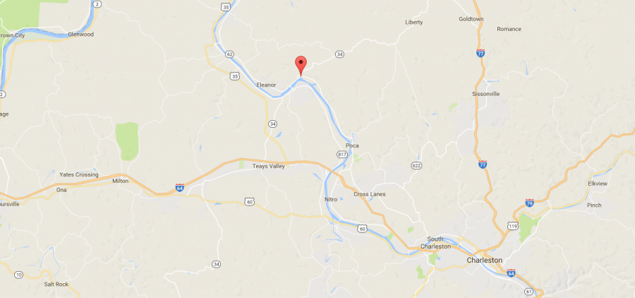 Red House, WV (Google Maps)