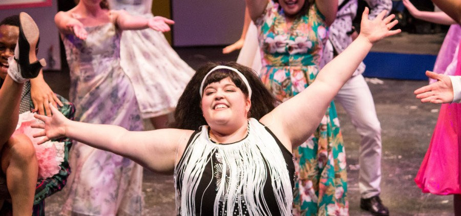 "A shot from a rehearsal of the Ohio Valley Summer Theater's production of ""Hairspray,"" which opens July 20. (Submitted)"