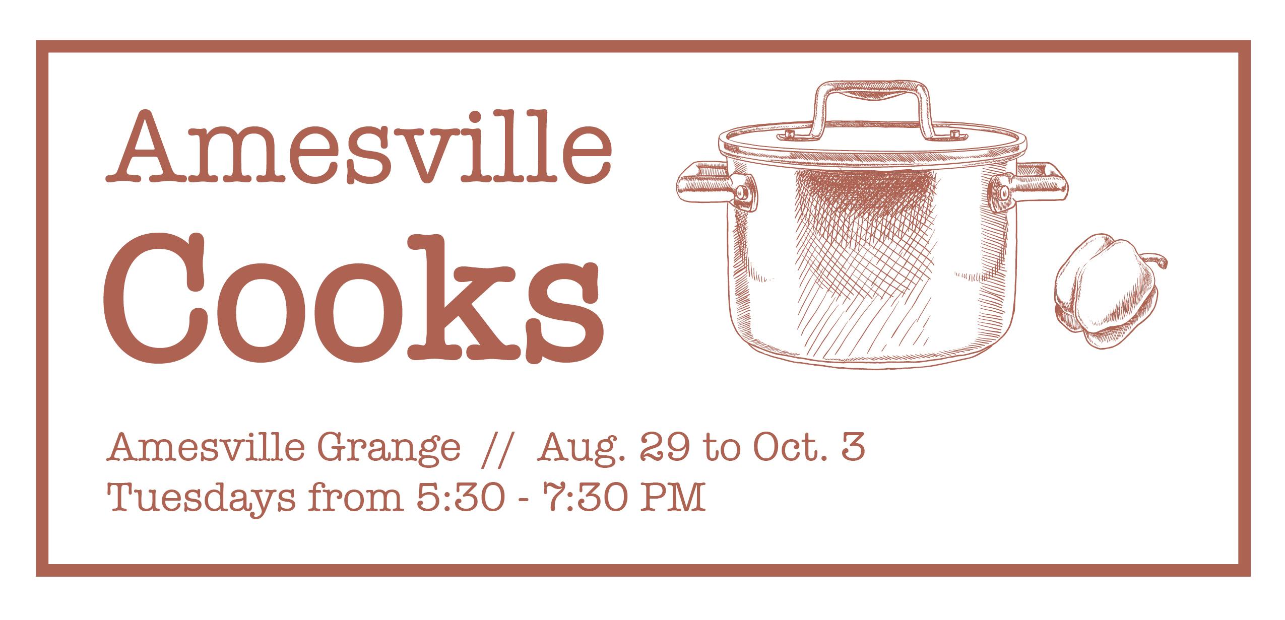 Amesville Cooks 2017 Header