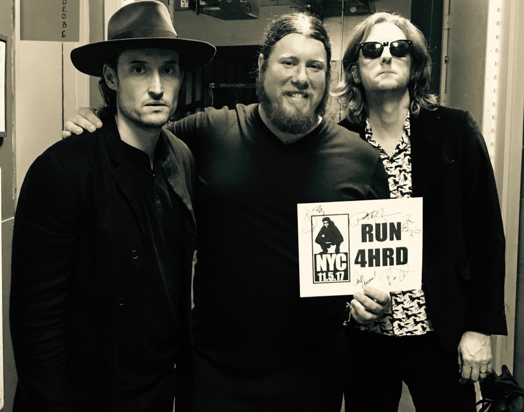 Members of My Morning Jacket were very supportive of donating signed vinyl copies of three of their albums to Antonuccio's fundraising endeavor. (Submitted)