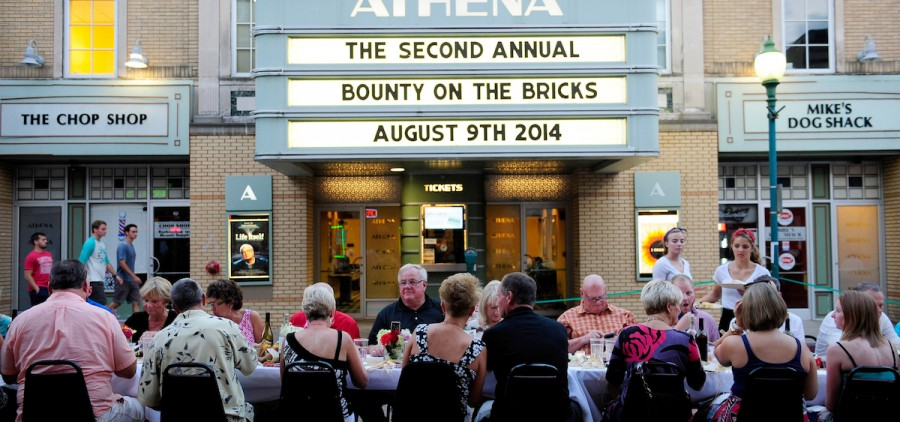 A photo from a past Bounty on the Bricks event; which has raised $315,000 in total for the Southeast Ohio Food Bank over the course of the past four years. (Submitted)