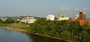Huntington, West Virginia skyline