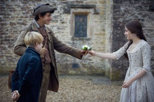 Poldark, Season 3 Sundays October 1 - November 19, 2017 at 9pm ET On MASTERPIECE on PBS Shown from left to right: Harry Marcus as Geoffrey Charles, Harry Richardson as Drake Carne and Ellise Chappell as Morwenna Courtesy of Mammoth Screen for BBC and MASTERPIECE