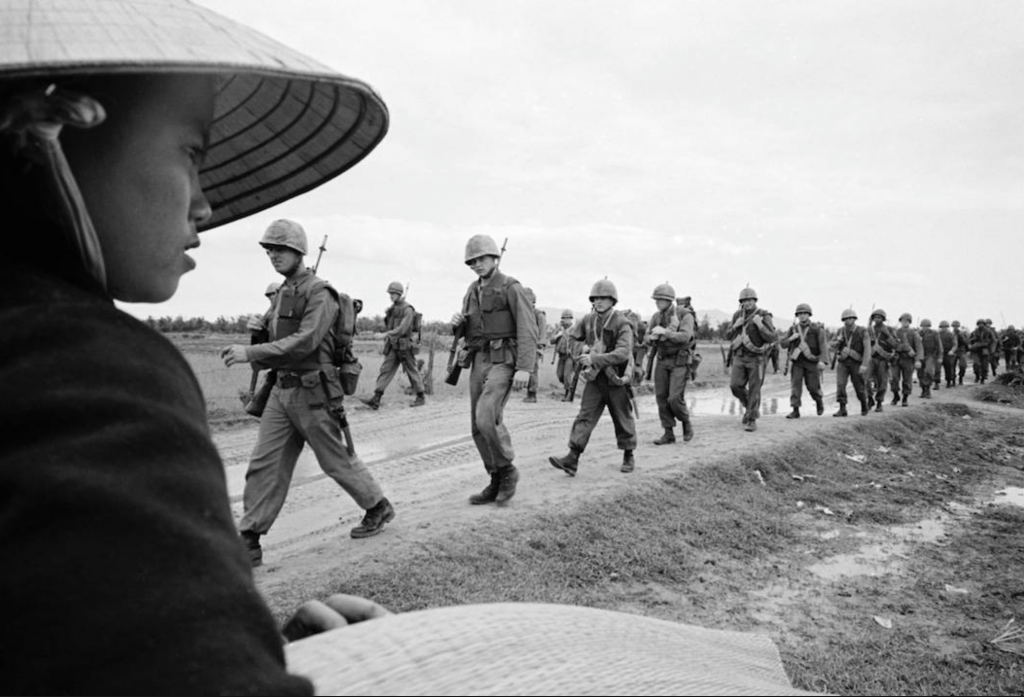 """An image that is incorporated into Ken Burns' and Lynn Novick's """"The Vietnam War."""" (pbs.org)"""