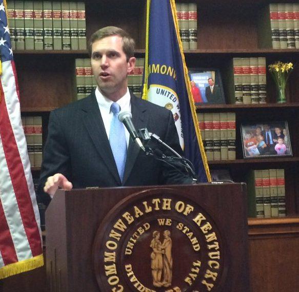 Kentucky Attorney General Andy Beshear (Courtesy WFPL)